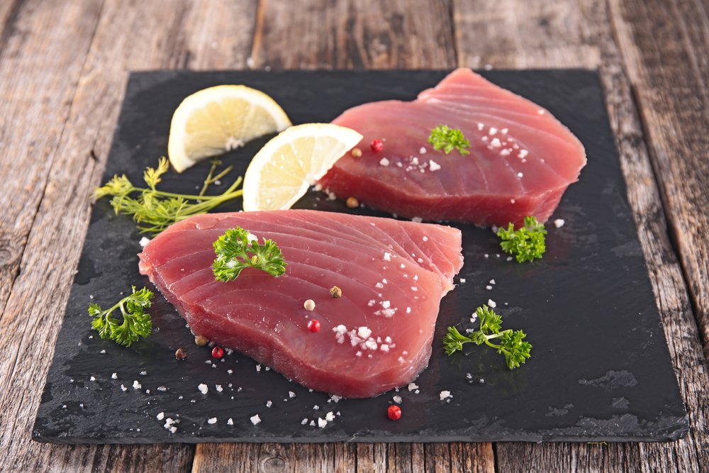 Tuna for cooking
